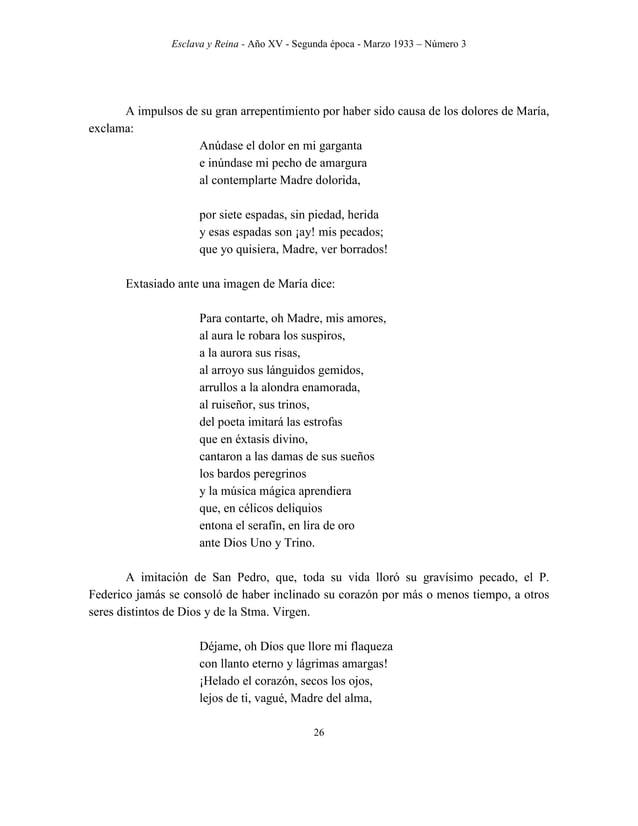 Esclava y Reina - Año XV - Segunda época - Marzo 1933 – Número 3 35 EL DIRECTOR DE ESPÍRITU S San Gregorio Magno quien dic...