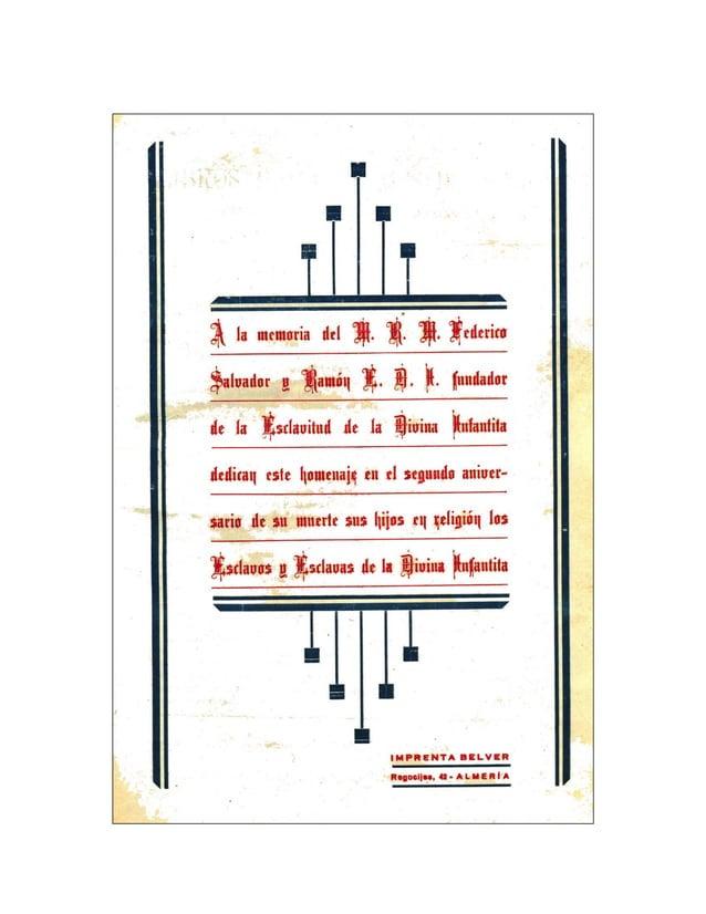 Esclava y Reina - Año XV - Segunda época - Marzo 1933 – Número 3 16 El P. Federico, Orador Sagrado N alma sacerdotal infla...