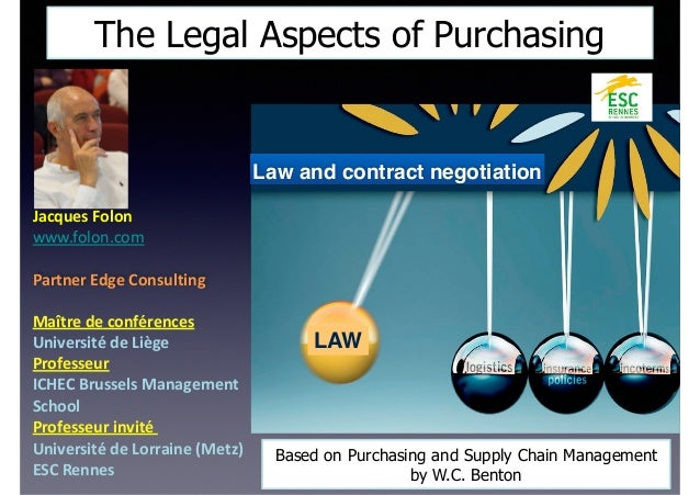 legal aspects of purchasing Legal aspects of business mba 2nd semester bangalor - title ebooks :  purchasing handbook electric vehicles socio economic prospects and.