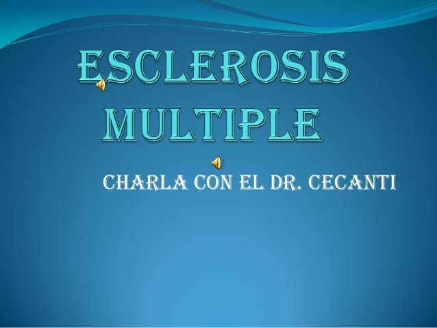 Charla con el Dr. Cecanti