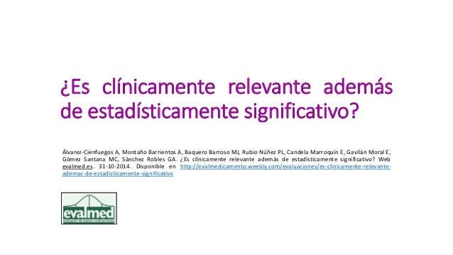 ESTADISTICAMENTE SIGNIFICATIVO PDF DOWNLOAD