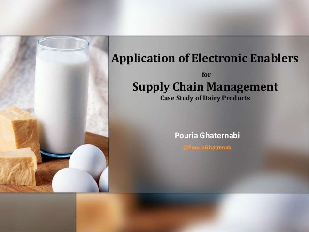 thesis on supply chain management in the dairy industry Thesis on supply chain management management essay  the concept of sc coordination in supply chain process to this industry although not all coordination efforts .