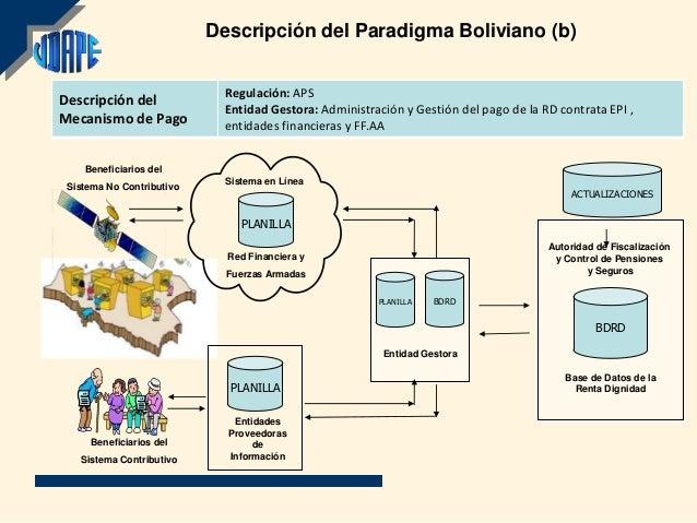 Descripción del Paradigma Boliviano (b)                             Regulación: APSDescripción del                        ...