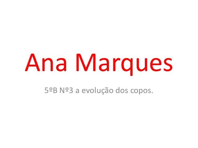Ana Marques5ºB Nº3 a evolução dos copos.