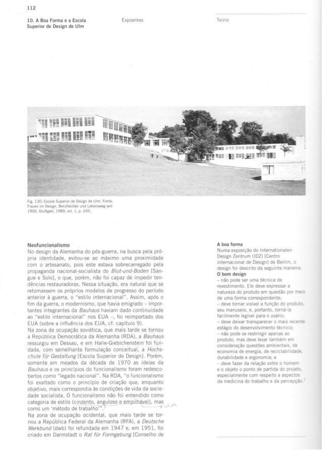 Escola de ulm_e_o_funcionalismo
