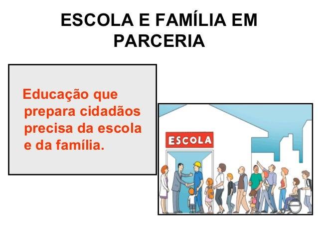 Escola E Família Em Parceria Palestra Norma