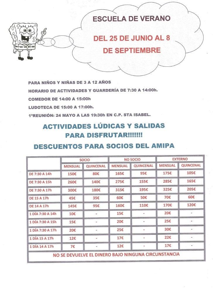 Escola d'estiu 2011-2012