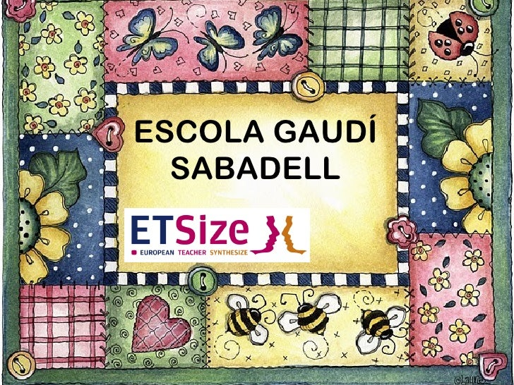 ESCOLA GAUDÍ SABADELL