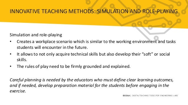 ESCOLA Module 2 Innovative Teaching