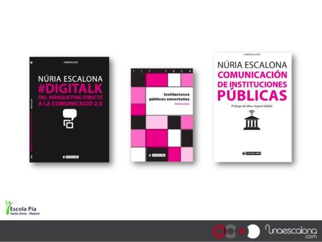 Adolescents en l'època #Digitalk a l'Escola Pia de Mataró Slide 2