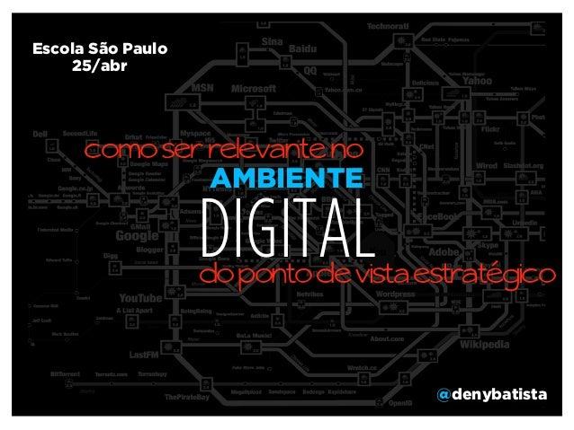 Escola São Paulo Marketing Digital abr/2013 Slide 2