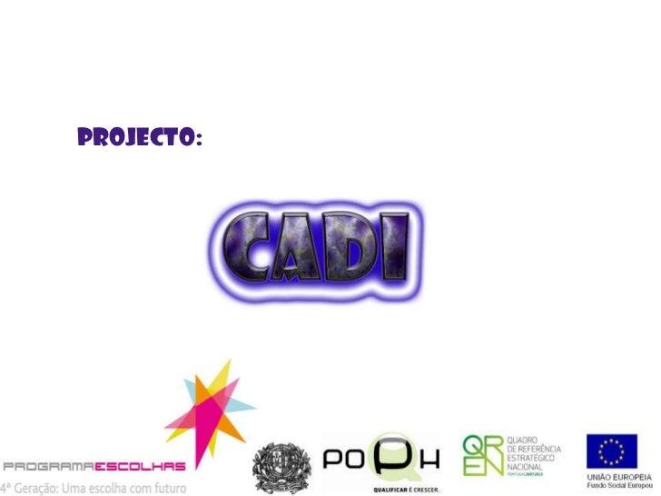 Projecto:<br />