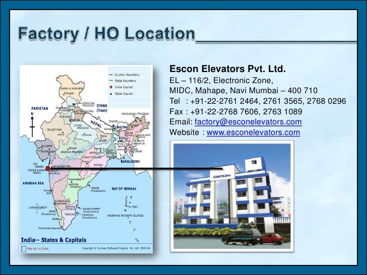 Escon Company Profile