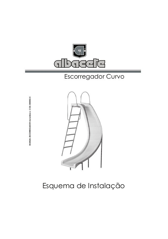 MANUAL ESCORREGADOR monobloco- COD. 000002-E                                                                       Escorre...