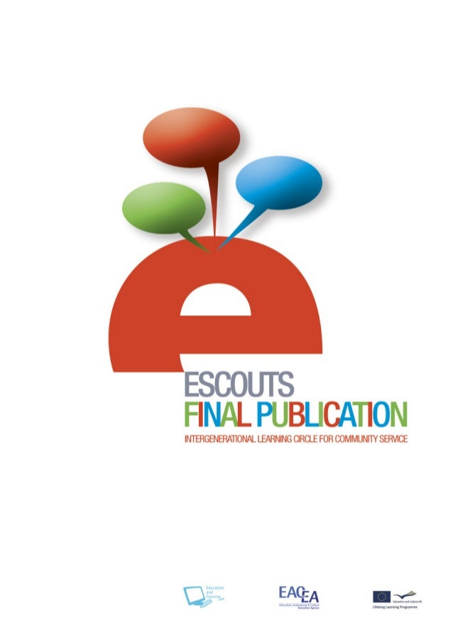 ESCOUTS FINAL PUBLICATION INTERGENERATIONAL LEARNING CIRCLE FOR COMMUNITY SERVICE