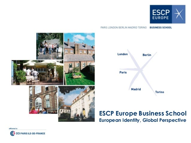 ESCP Europe Business School European Identity, Global Perspective