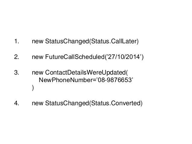 class CustomerSearchModel { int Id; List<string> Names; List<string> Emails; List<string> PhoneNumbers; Status Status; Dat...