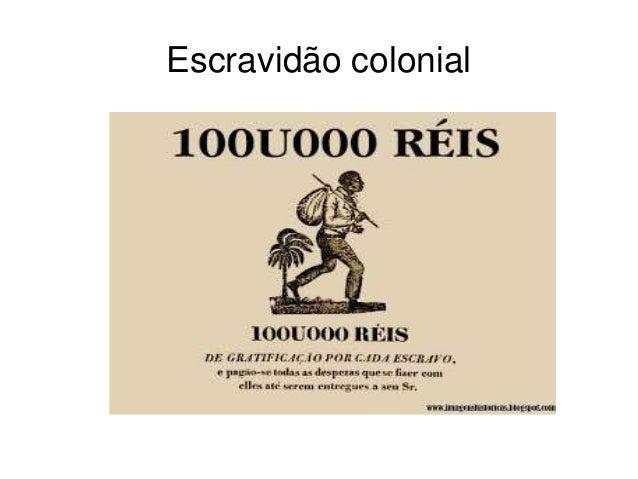 Escravidão colonial