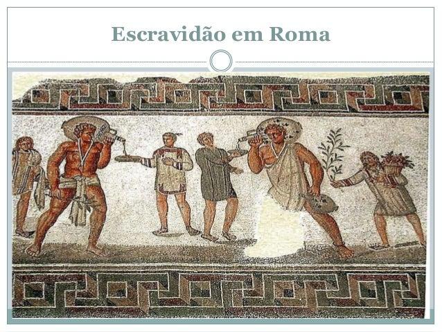 Escravidão em Roma