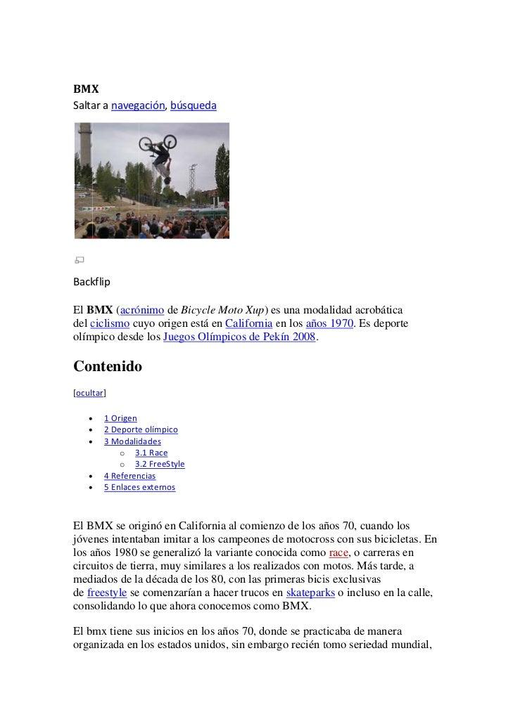 BMX X Salta     aranaveg              gación,bús                        squeda            kflip Back  El B    BMX (...