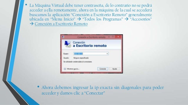 Escritorio remoto windows windows - Conexion a escritorio remoto windows xp ...