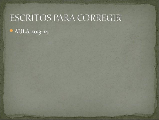 AULA 2013-14
