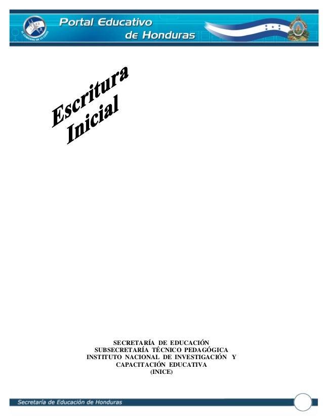 SECRETARÍA DE EDUCACIÓN  SUBSECRETARÍA TÉCNICO PEDAGÓGICAINSTITUTO NACIONAL DE INVESTIGACIÓN Y        CAPACITACIÓN EDUCATI...