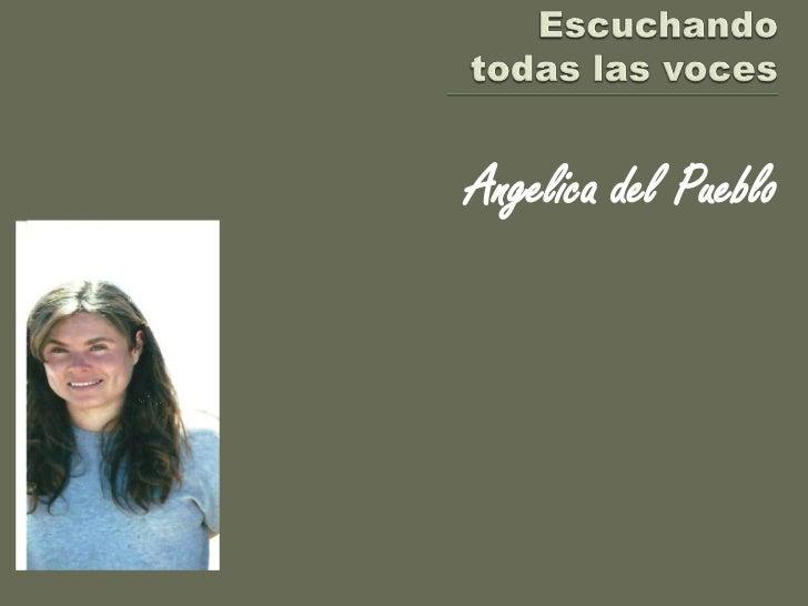 Angelica del Pueblo