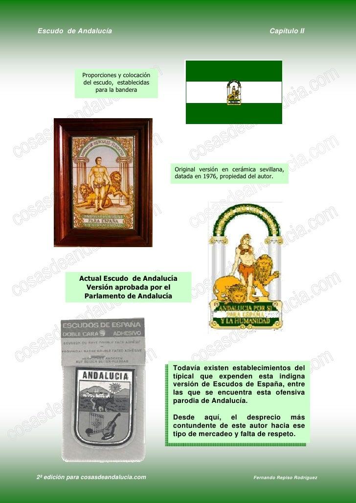 Escudo de Andalucía                                                          Capítulo II                    Proporciones y...