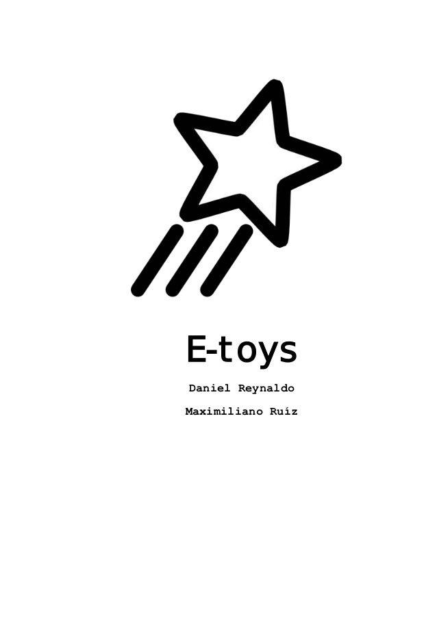 E-toysDaniel ReynaldoMaximiliano Ruíz