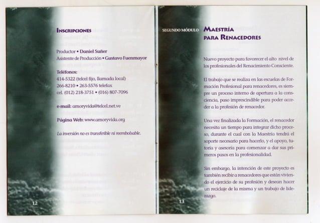 P)  ÍNSCRIPCIONES  Productor 0 Daniel Suñer  Asistente de Produccion - Gustavo Fuenmayor Teléfonos:   414-5322 (telcel ti¡...