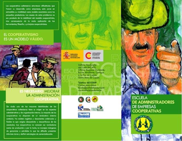 Escuela de administradores de cooperativas cafetaleras hondureñas 2005