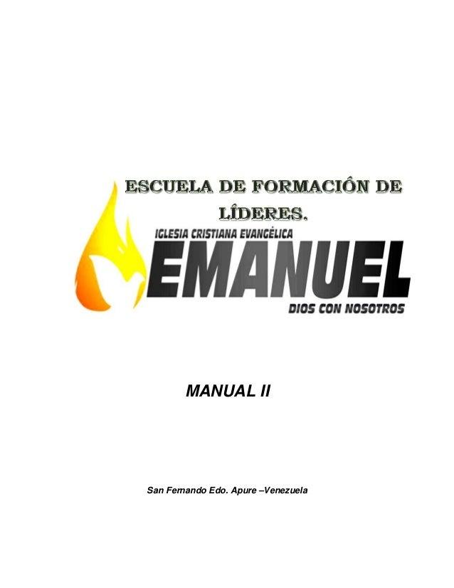 MANUAL II San Fernando Edo. Apure –Venezuela