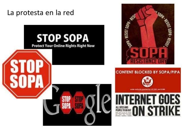 La protesta en la red