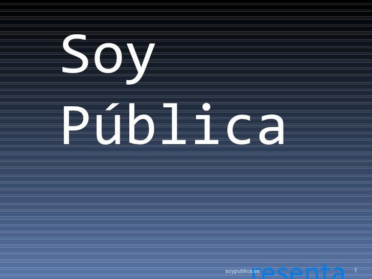 SoyPública     soypublica.es   1