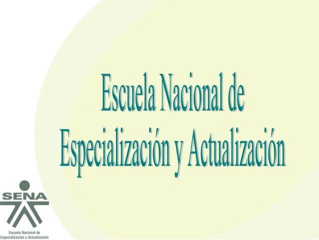 Es un Programa creado mediante Acuerdo 0014 de diciembre de 2008, expedido por el Consejo Directivo Nacional del SENA. El ...