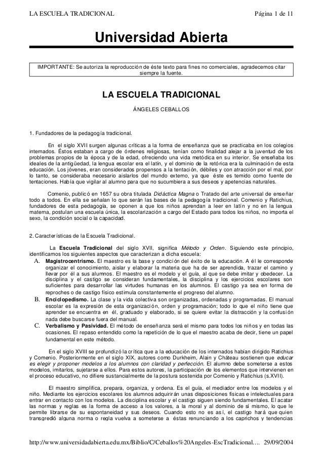 Universidad Abierta IMPORTANTE: Se autoriza la reproducción de éste texto para fines no comerciales, agradecemos citar sie...