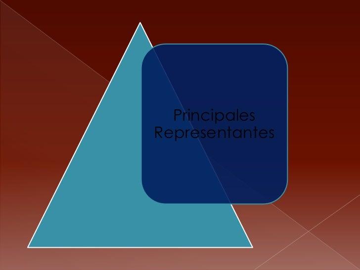 PrincipalesRepresentantes