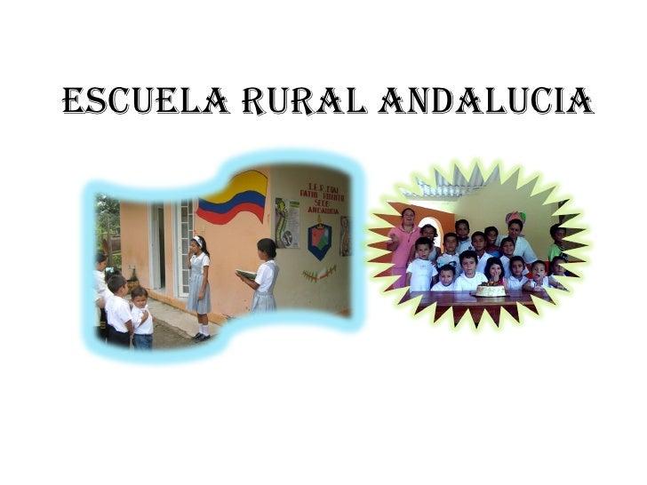 ESCUELA RURAL ANDALUCIA