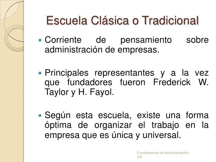 Escuelas de la administraci n for Oficina tradicional y moderna