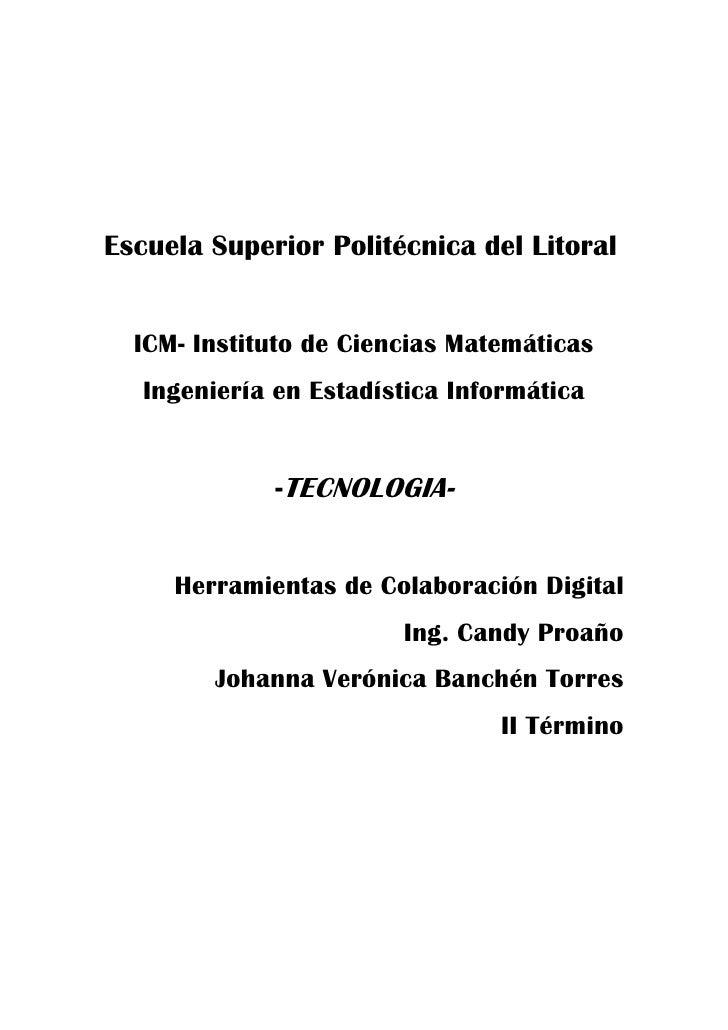 Escuela Superior Politécnica del Litoral<br />ICM- Instituto de Ciencias Matemáticas<br />Ingeniería en Estadística Inform...