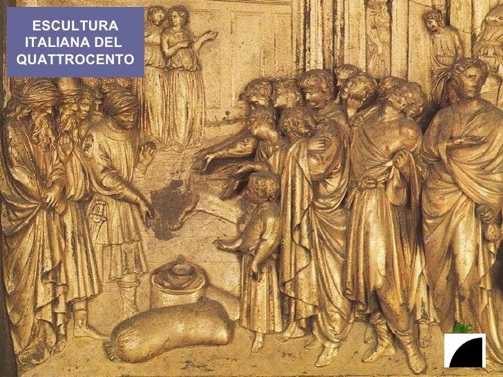 ESCULTURA ITALIANA DEL  QUATTROCENTO