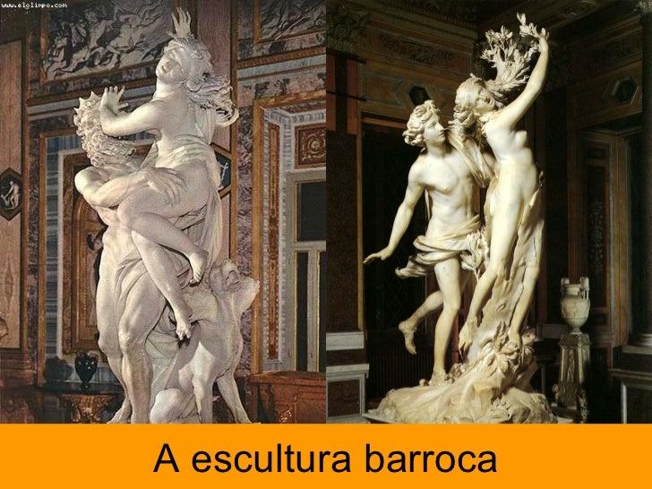A escultura barroca