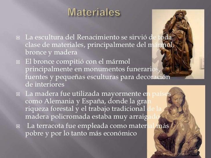 Escultura del renacimiento for De donde viene el marmol