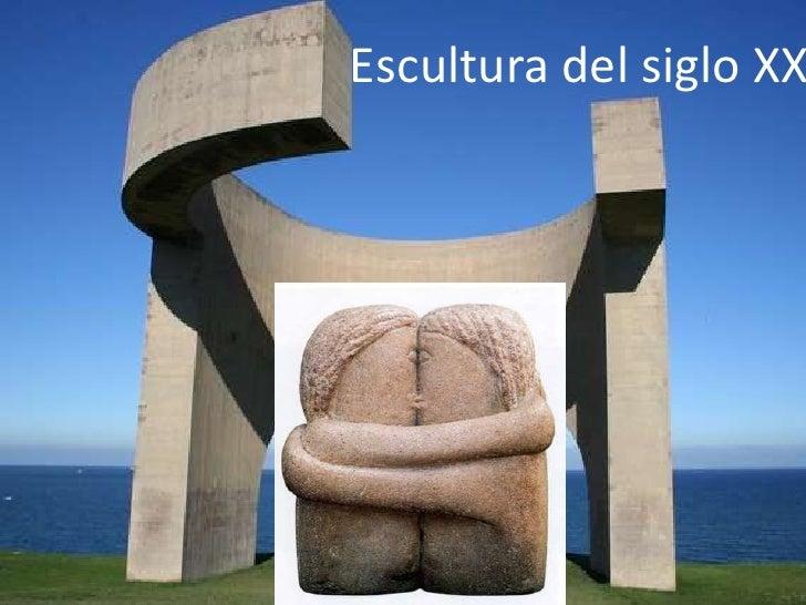 Resultado de imagen de escultura del siglo xx
