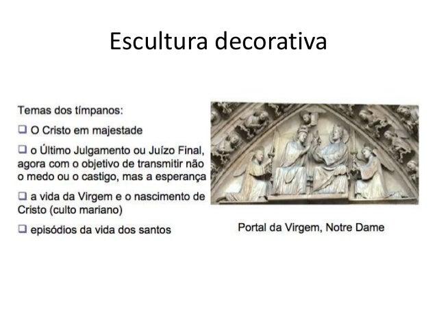 Escultura gotica - Escultura decorativa ...
