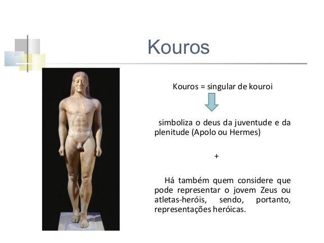 Koré Korai = plural de koré jovens virgens, graciosas e encantadoras, com longas túnicas pregueadas, que eram pintadas de ...