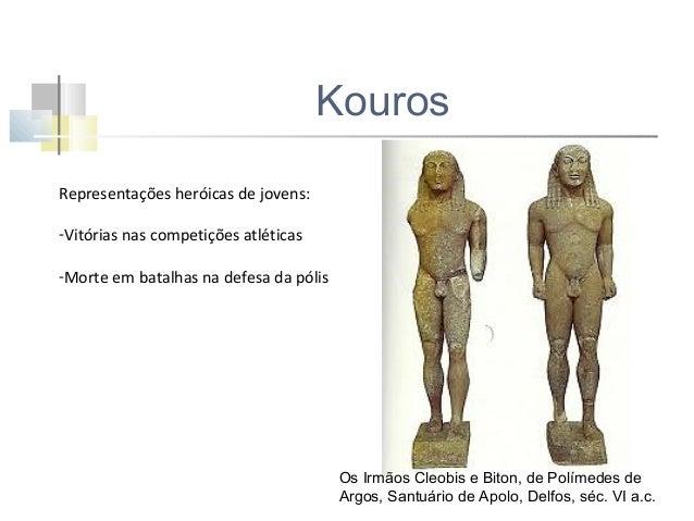 Dama de Auxerre- sec VII a.c  Kouros dito de Súnio-sec VI a.c