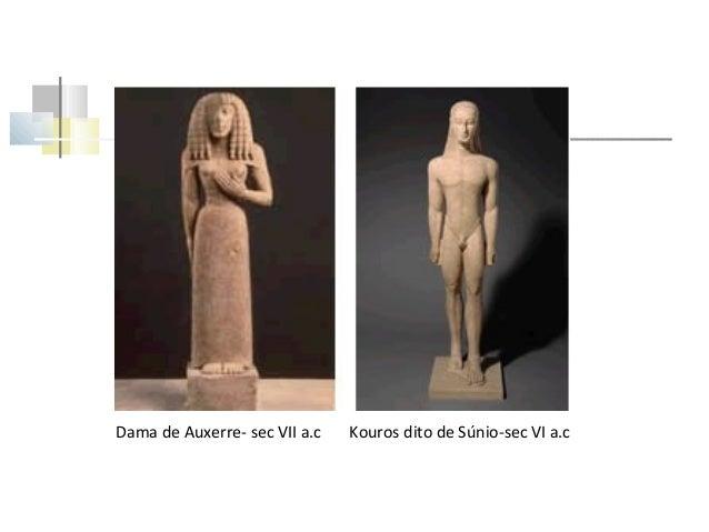Sorriso e nu Sorriso relação mais transparente e destemida entre homens e deuses. As estátuas votivas mostram desde o perí...