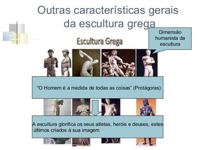 Outras características gerais da escultura grega Quais as funções da escultura grega?